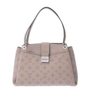 Louis Vuitton Beige Mahina Leather Sevres Bag