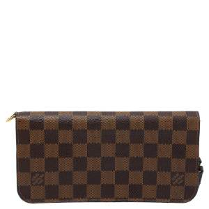 Louis Vuitton Damier Ebene Canvas Insolite Wallet