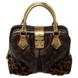 Louis Vuitton Monogram Leopard Limited Edition Adele Bag