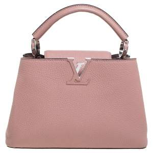 Louis Vuitton Magnolia Taurillon Leather Capucines BB Bag