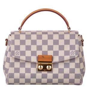 Damier Azur Louis Vuitton Damier Azur Croisette Bag