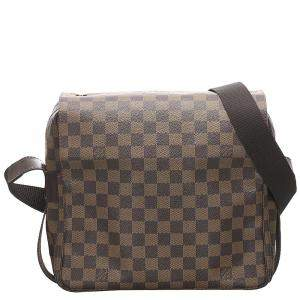 Louis Vuitton Damier Ebene Canvas Naviglio Bag