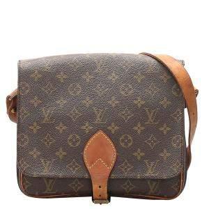 Louis Vuitton Monogram Canvas Cartouchiere GM Bag