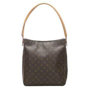 Louis Vuitton Monogram Canvas Looping GM Bag