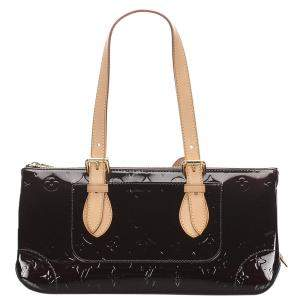 Louis Vuitton Brown Monogram Vernis Rosewood Avenue bag