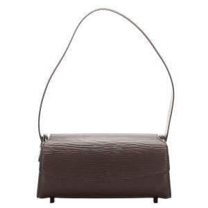 """حقيبة لوي فيتون """"نوكتورن پي إم"""" جلد إيبي بني"""