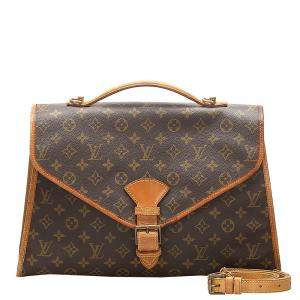 Louis Vuitton Monogram Canvas Beverly Briefcase GM bag