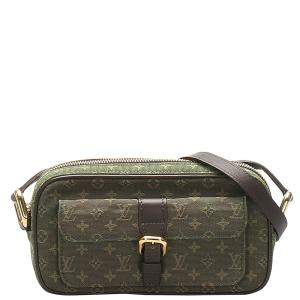Louis Vuitton Green Monogram Mini Lin Canvas Juliette Bag