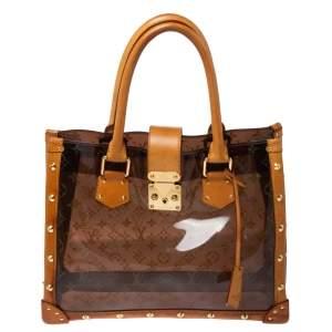 حقيبة لوي فيتون أمبر نيو مونوغرامية شفافة كاباس MM