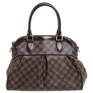 Louis Vuitton Damier Ebene Canvas Trevi PM Bag