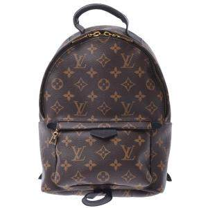 Louis Vuitton Brown Monogram Canvas Palm Springs PM  Backpack Bag
