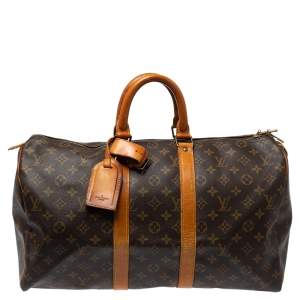 حقيبة لوي فيتون كيبال كانفاس مونوغرامية 45