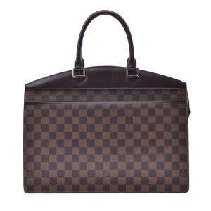 Louis Vuitton Brown  Damier Ebene Canvas Greenwich PM Bag