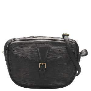 Louis Vuitton Black Epi Leather Jeune Fille Bag
