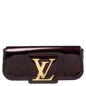 Louis Vuitton Amarante Vernis Sobe Clutch
