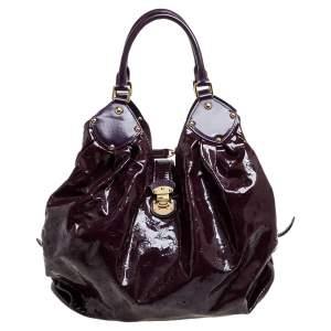 Louis Vuitton Amarante Mahina Patent Leather Limited Edition Surya XL Bag