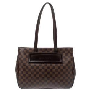 Louis Vuitton Damier Ebene Canvas Parioli PM Bag
