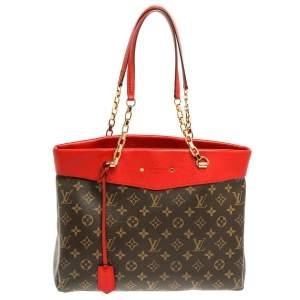 Louis Vuitton Cerise Monogram Canvas Pallas Shopper Bag
