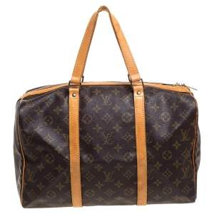 Louis Vuitton Monogram Canvas Sac Souple 35 Duffel Bag