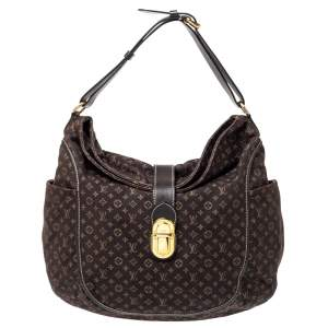Louis Vuitton Fusain Monogram Canvas Idylle Romance Bag