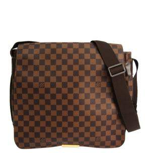 Louis Vuitton Damier Ebene Canvas Bastille Bag