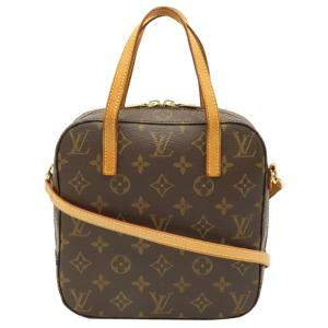 Louis Vuitton Monogram Canvas Spontini Bag