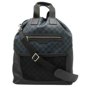 Louis Vuitton Damier Cobalt Canvas Matchpoint Hybrid Backpack