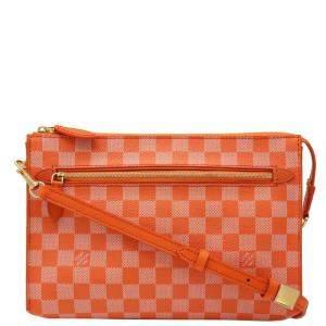 Louis Vuitton Orange Damier Couleur Modul Bag