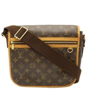 Louis Vuitton Brown Monogram Canvas Messenger Bosphore PM Bag