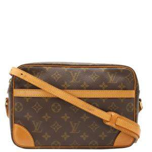 Louis Vuitton Brown Monogram Canvas Trocadero 27 Bag