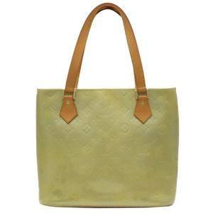 Louis Vuitton Green Monogram Vernis Houston Tote Bag