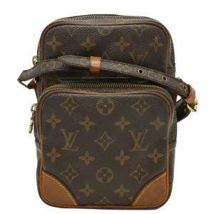 Louis Vuitton Brown Monogram Canvas Amazon Bag