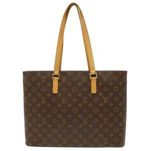 Louis Vuitton Brown Monogram Canvas Luco Tote Bag