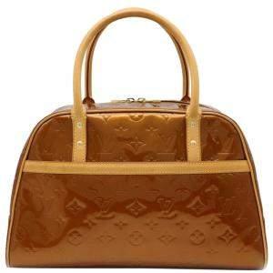 Louis Vuitton Brown Monogram Vernis Tompkins Square bag