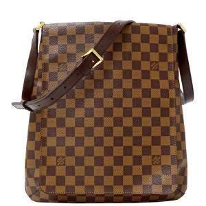 Louis Vuitton Brown Damier Ebene Musette Bag