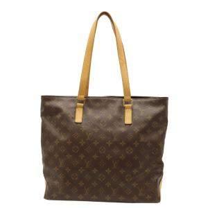 Louis Vuitton Brown Monogram Canvas Cabas Mezzo Tote Bag
