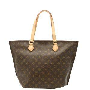 Louis Vuitton Brown Monogram Canvas All-in PM Tote Bag
