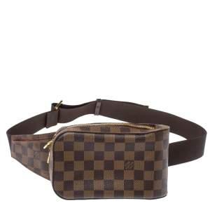 Louis Vuitton Damier Ebene Canvas Geronimos Belt Bag