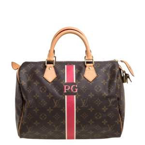 Louis Vuitton Mon Monogram Canvas Speedy 30 Bag