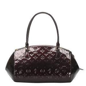 Louis Vuitton Brown Monogram Vernis Sherwood PM Bag
