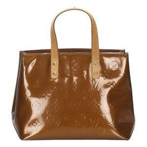 Louis Vuitton Brown Monogram Vernis Reade PM Bag