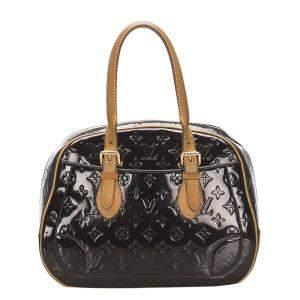 Louis Vuitton Black Monogram Vernis Summit Drive Bag