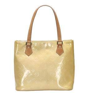 Louis Vuitton Yellow Monogram Vernis Houston Bag