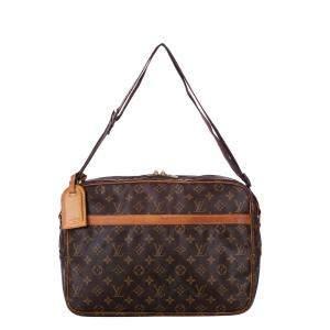 Louis Vuitton Monogram Canvas Reporter GM Bag