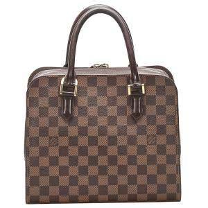 Louis Vuitton Brown Damier Ebene Canvas Triana Bag