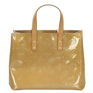 Louis Vuitton Beige Vernis Canvas Reade PM Bag