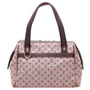 Louis Vuitton Pink Monogram Mini Lin Canvas Josephine PM Bag