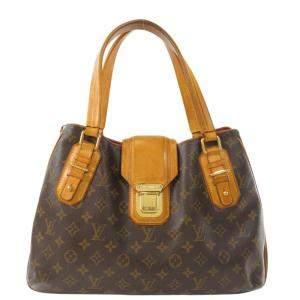 Louis Vuitton Brown Monogram Canvas Griet Tote Bag