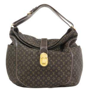 Louis Vuitton Brown Monogram Idylle Canvas Romance Hobo Bag