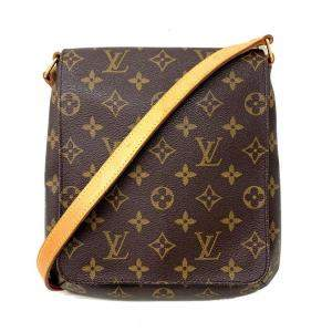 Louis Vuitton Brown Monogram Canvas Musette Salsa Bag